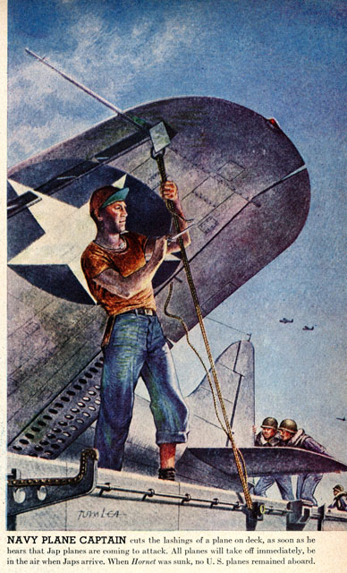 navy plane captian