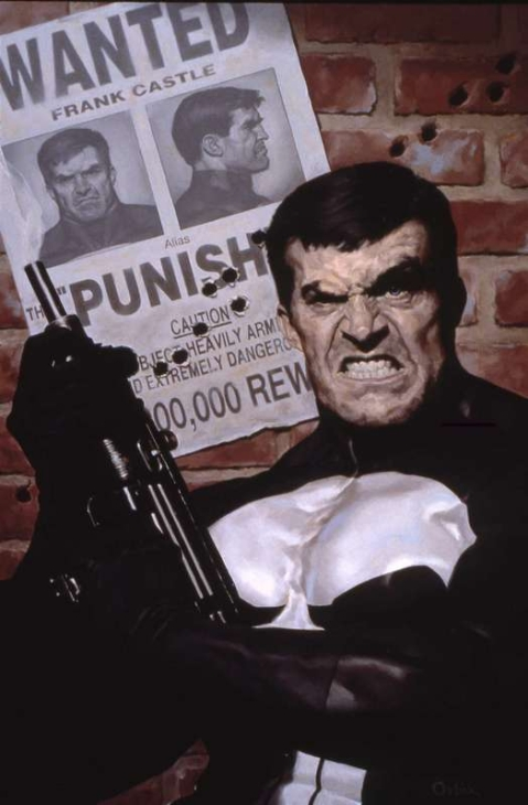 The Punisher by Orbik-- great UZI