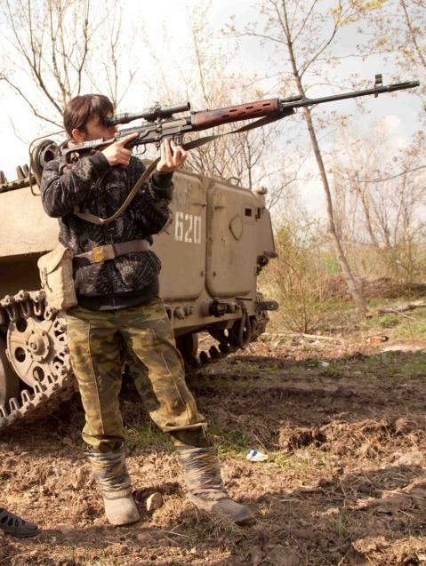 """Somewhere in the Ukraine..."""
