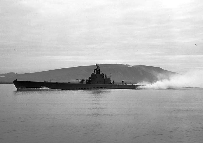 USS_Seawolf; http://www.navsource.org/archives/08/08197.htm Port side view of the Seawolf (SS-197) underway off the Mare Island Navy Yard, California, 7 March 1943. Official U.S. Navy Photograph, from the collections of the Naval Historical Center. US Navy photo # NH 99549.