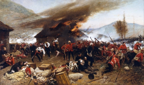 Alphonse de Neuville - The defence of Rorke's Drift 1879