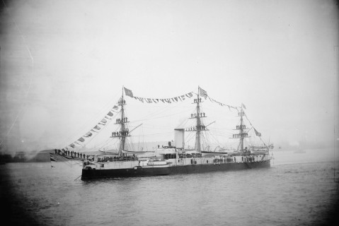 Aquidabã at Hampton Roads 1893