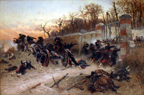 Défense de la porte de Longboyau, 21 octobre 1870