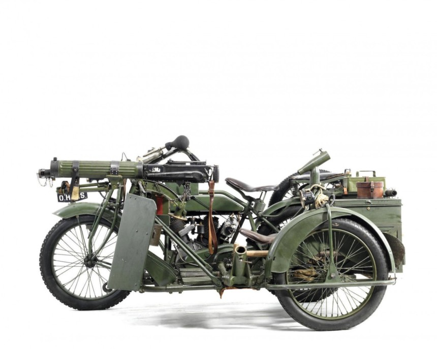 matchless vickers 4