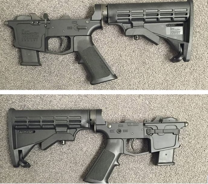 NFA in Nevada is making 9mm Glock magged AR lowers