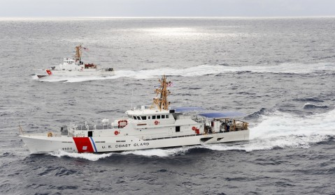sentinel compared to Island class coast guard cutter (distance)wpb uscg patrol boat