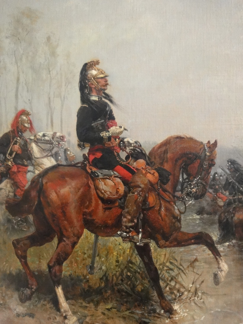 Dragoons, mounted