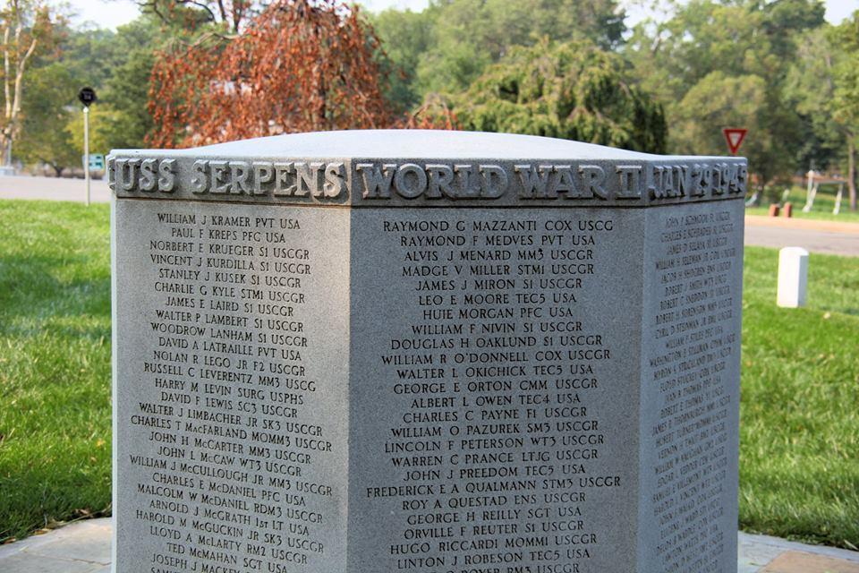 USS Serpens (AK-97) memorial