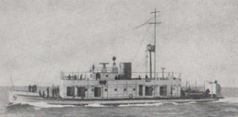 ARC Cartagena river gunboat (Canonero fluvial)