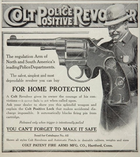 colt police postive ad