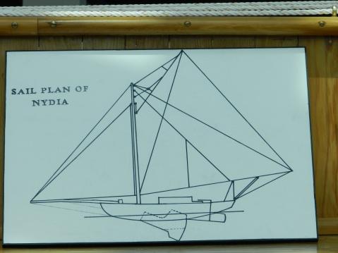 nydia sail plan