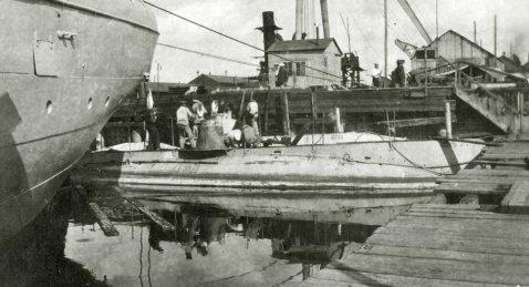 Russan submarine SOM catfish