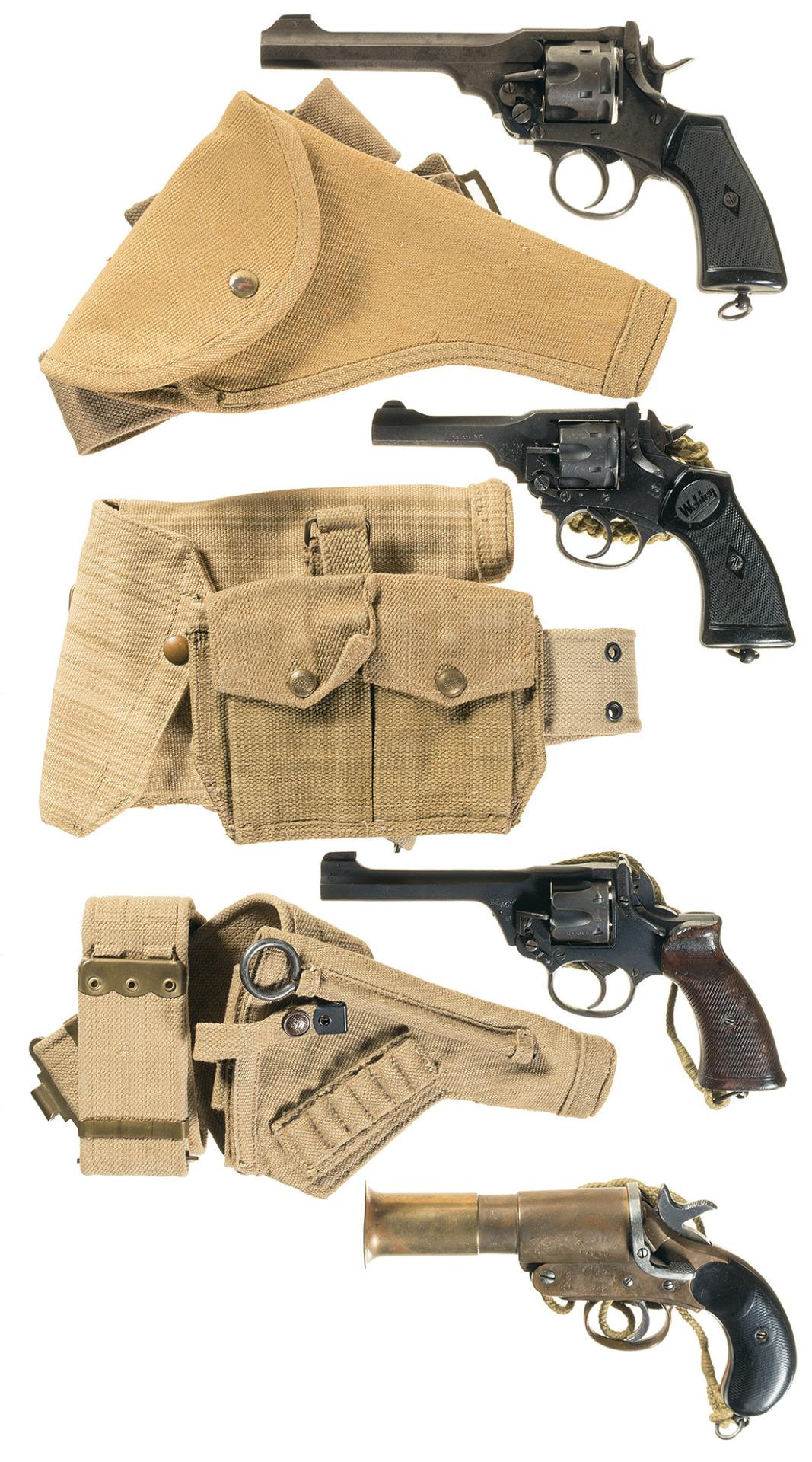 webley revolver images