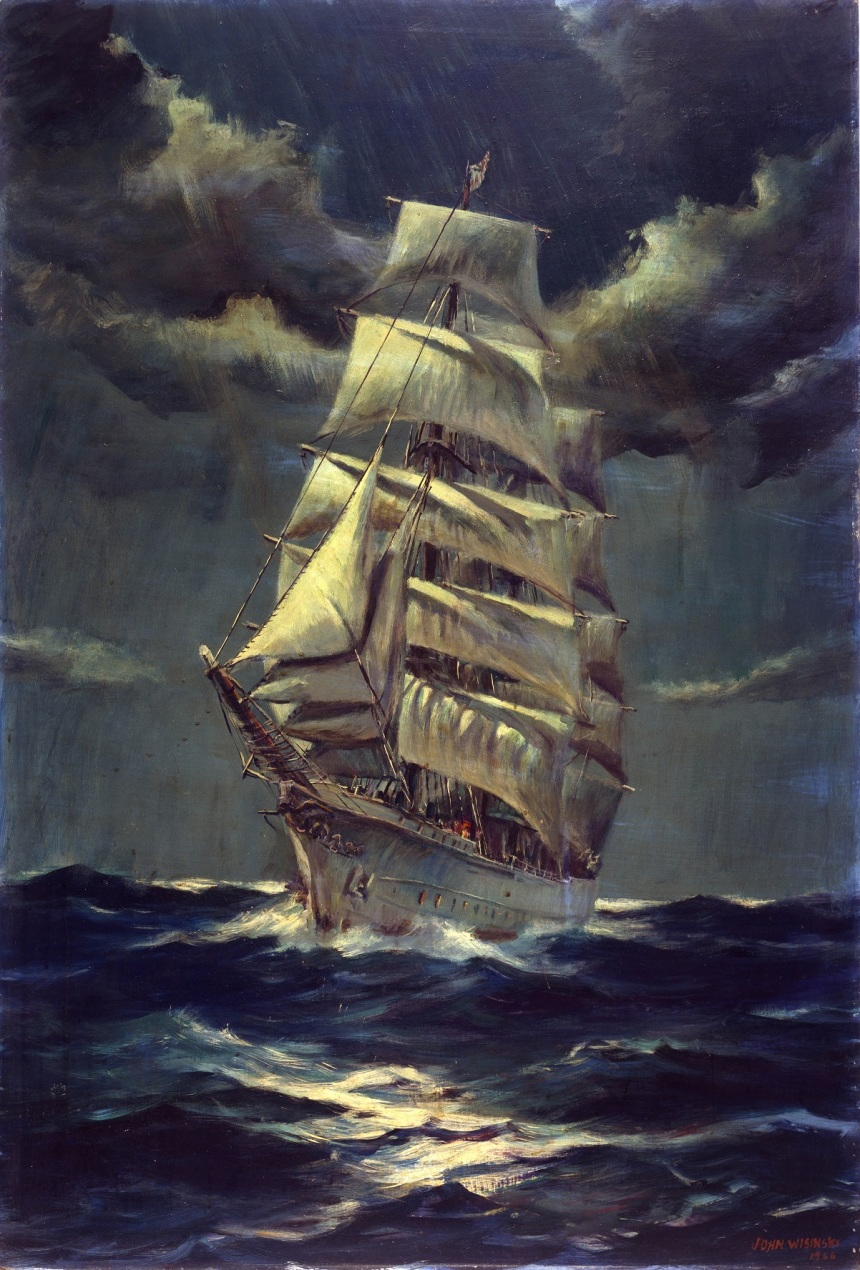 Cutter Eagle by John Wisinski (ID# 90138)