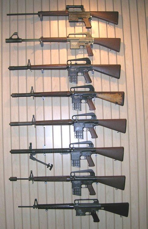 AR-10 prototypes