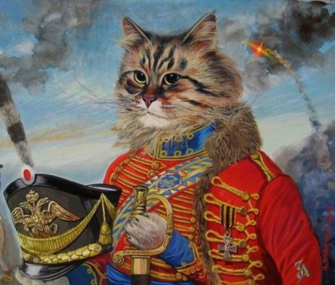 Cats as Military Art