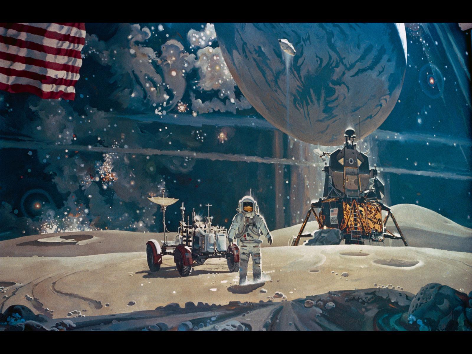 astronaut mural - photo #2