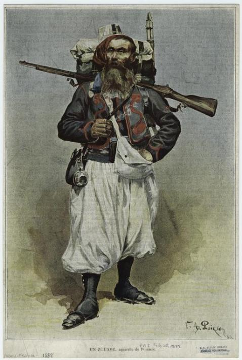 1888 French Zouave