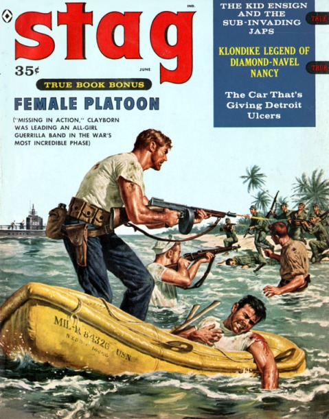 Stag cover, June 1959