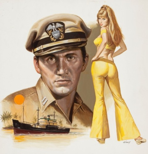 """Cover for """"Voyage to Somewhere"""" 1970 paperback"""