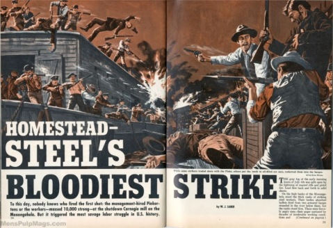 homestead steel strike STAG-Dec-1965