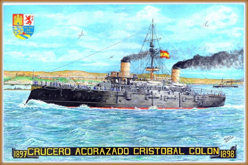 spanish cruiser christopher colon bh garcia