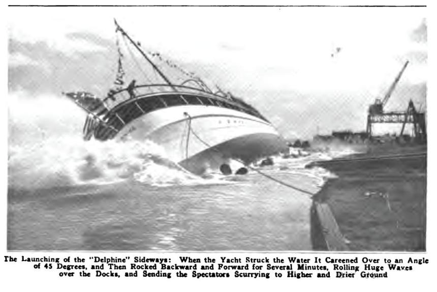 SS_Delphine_Launched
