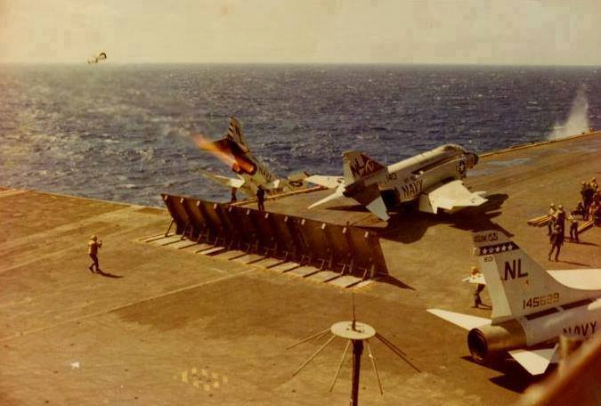 USS Coral Sea 30th June 1970 F-4B Phantom 153913