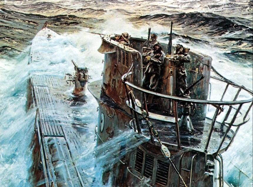 1942 U-boot Type IX