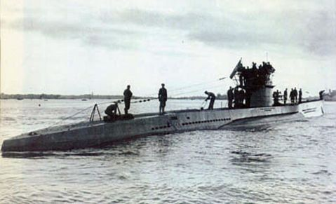U-573 in German service