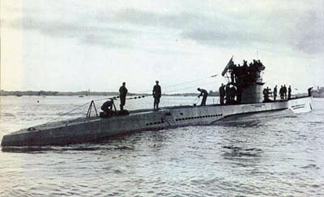 U-573 in German service