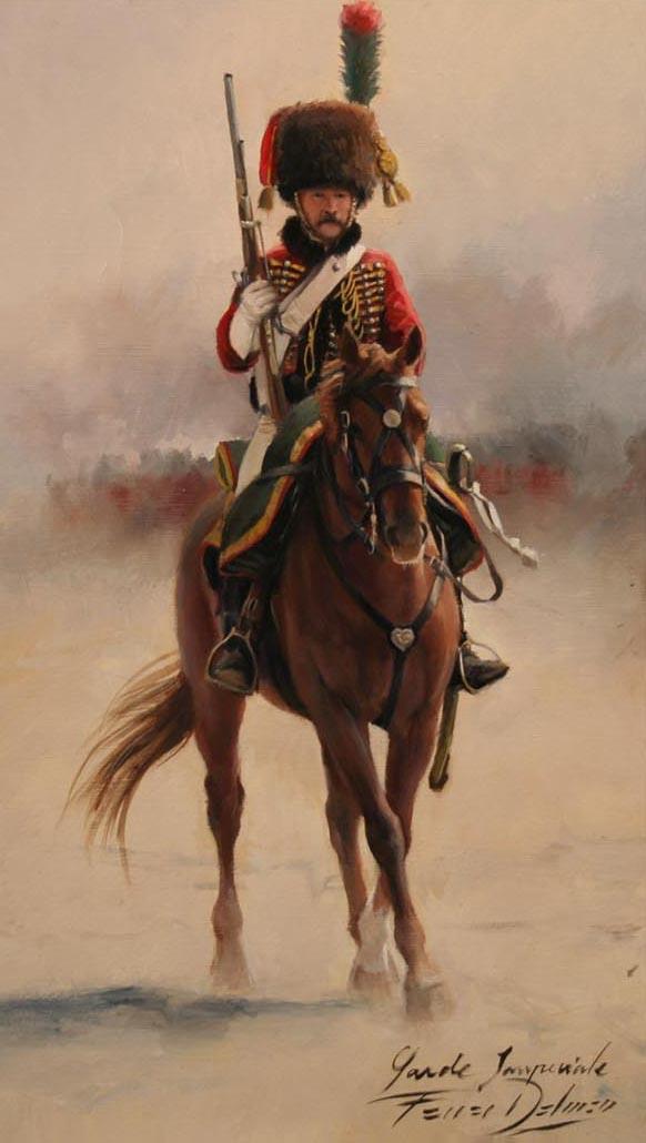 Cazador a caballo de la Guardia Imperial Chasseur à cheval de la Garde Impériale Augusto Ferrer-Dalmau