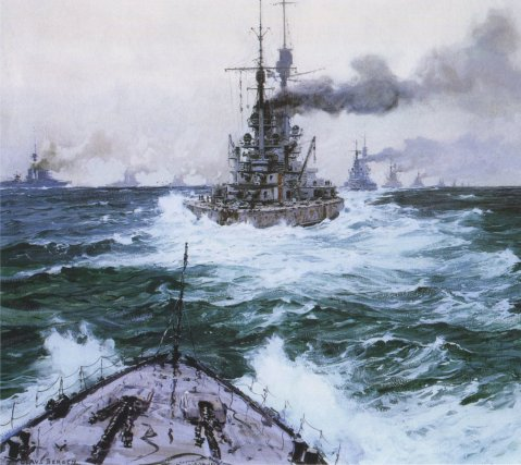 High Seas Fleet setting sail 31 May 1916