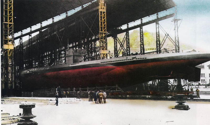 G7 during her reconstruction