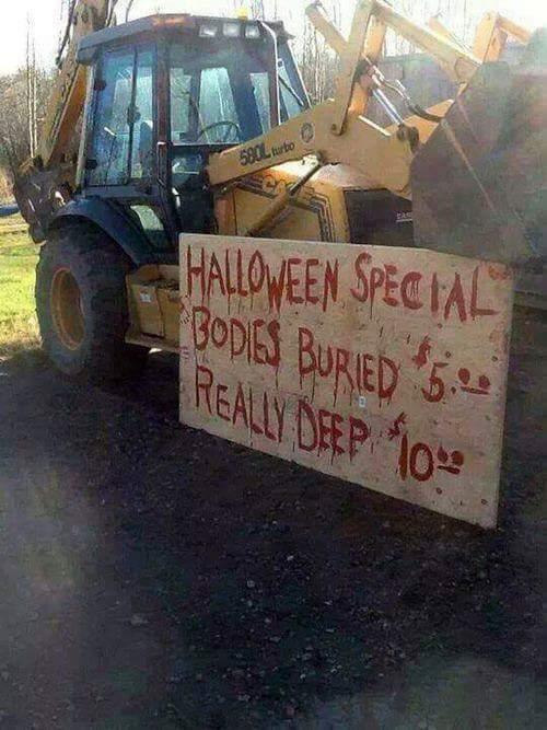 halloween bodies