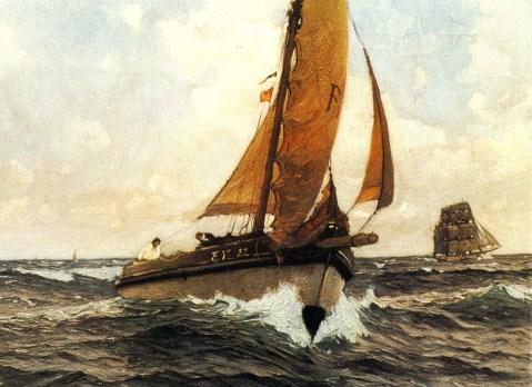Mit Wind und Wellen