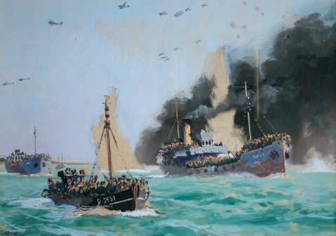 Operation Dynamo, the evacuation of Dunkirk