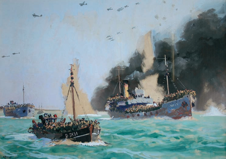 Operation Dynamo, the evacuation of Dunkirk