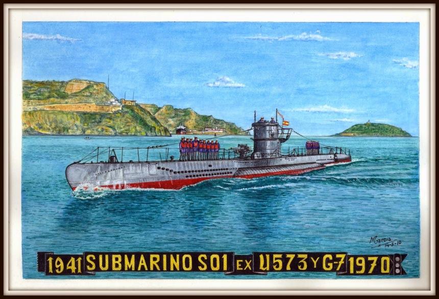 Submarino S 01 Ex U573 y G-7 1941-1970 By Martin Garcia Garcia