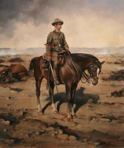 Trooper, Alcantara Chasseurs Regiment, 14th Cavalry, 1921
