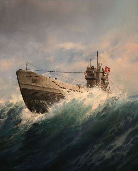 U Boot, by Augusto Ferrer Dalmau u-boat