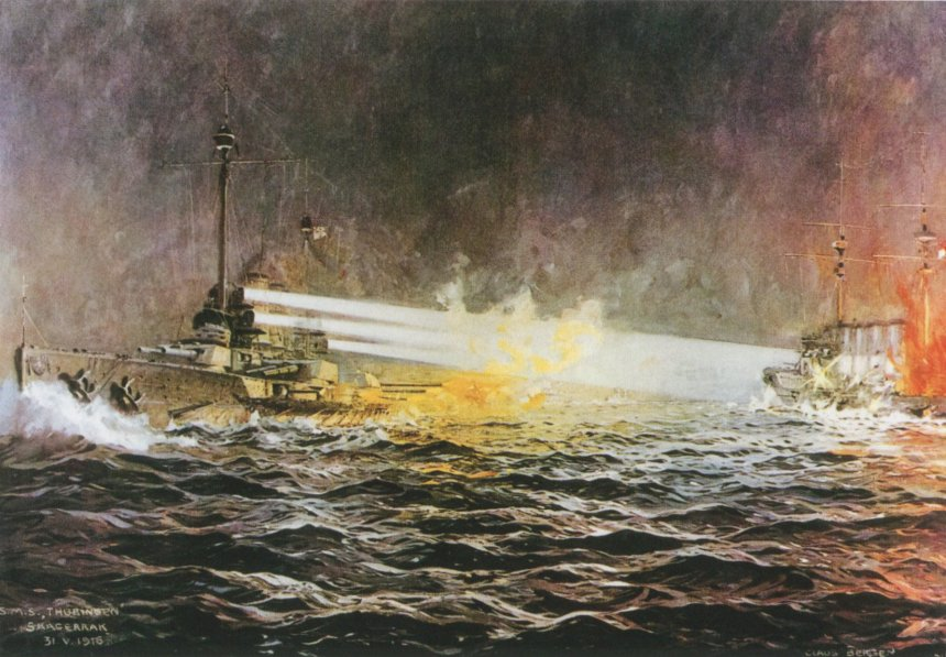 SMS- Thuringen and HMS Black Prince