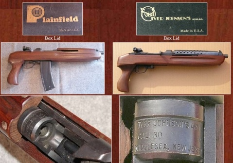 Both Plainfield and Iver Johnson made M1 carbine style pistols in the 1960s and 70s