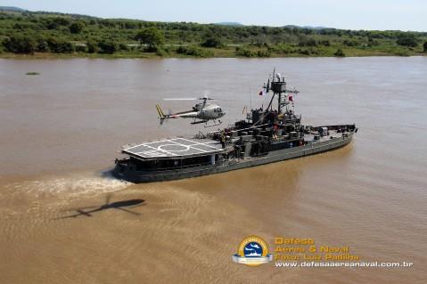 Brazilian Navy monitor Parnaíba (U17) still in service