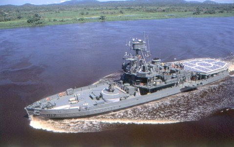 Brazilian Navy river monitor u17