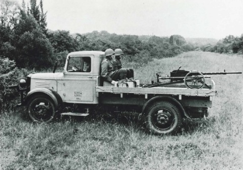"""These big truck-mounted 20mm guns were among the first """"Technicals"""" and caught the Germans by surprise."""