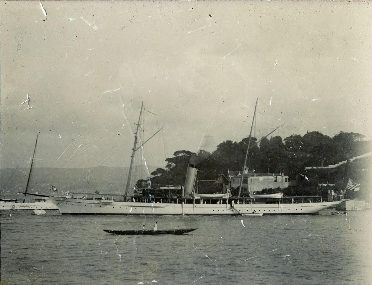 USS Scorpion (PY-3) in Constantinople, circa 1912 NHHC UA 04.01 Margaret Duggan Collection