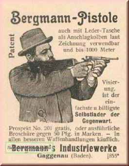 Bergmann-Pistole