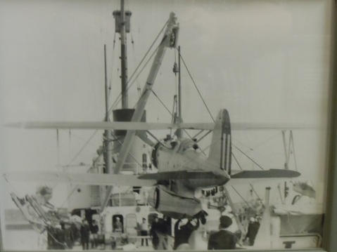 These cutters were designed from the outset to accommodate a floatplane