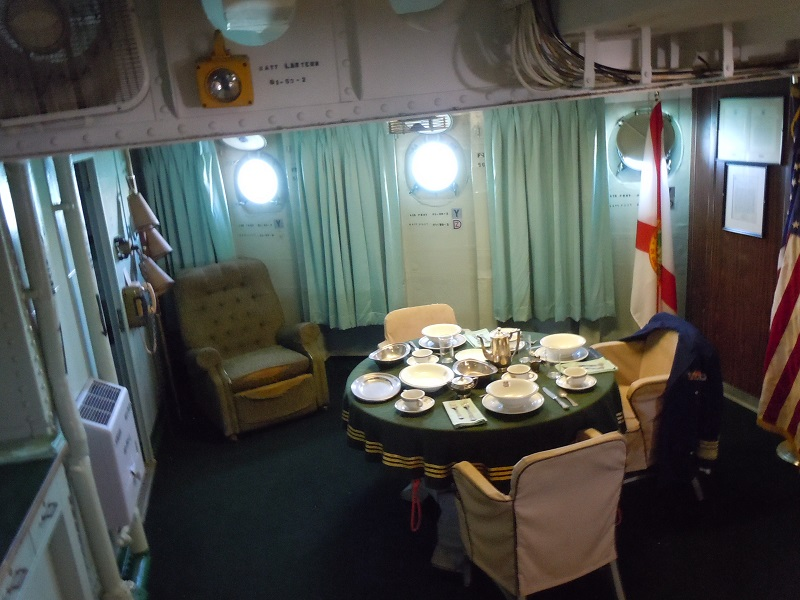 Captian's cabin